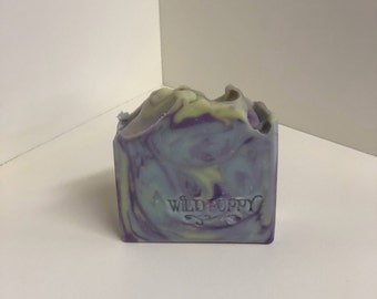 Lavender Herb Soap / Artisan Soap / Handmade Soap / Soap / Cold Process Soap