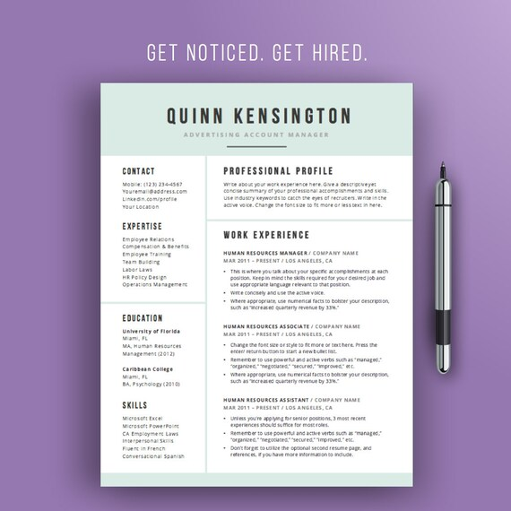 Sale resume design template modern professional resume resume design template modern professional resume template word doc cv template design two page resume instant download yelopaper Choice Image