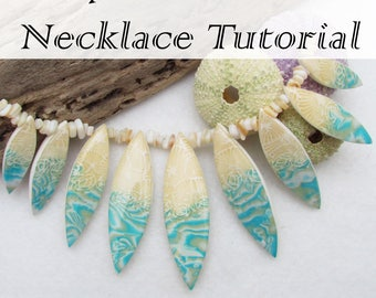 By the Beach Necklace Tutorial