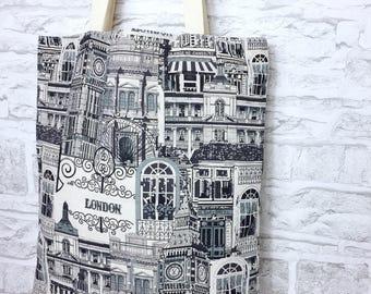 Eco bag, large bag, canvas tote, canvas bag, grocery bag, cotton bag, shoulder bag, book bag, reusable bag, market bag, ladies tote