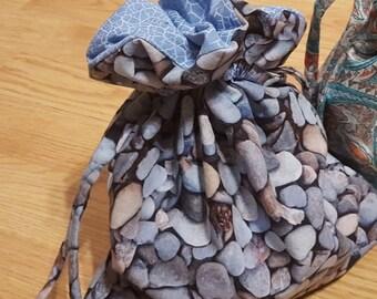 River Rocks Sock Knitting Project Bag