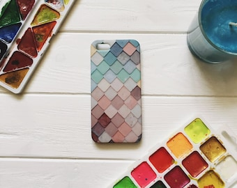 COLORED TILE iPhone 6 case, iPhone 6s case, iPhone 6 cases, case for iPhone 6, case for iPhone 6s, iPhone 7 case, iPhone 7 cases, iPhone 7
