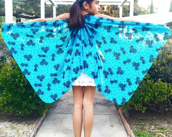 Butterfly Wings, Butterfly, Bird Play Wings, Fairy Wings, Dress Up Wings, Christmas Gift for Kids, Holiday Gift Ideas, Pretend Play Toy Gift