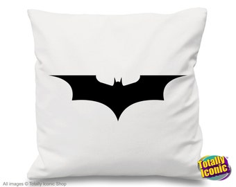 Batman The Dark Knight  - Pillow Cushion Cover - Comic Book Hero - Inspired by the comic series.