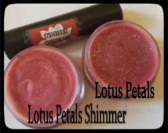 Lotus Petals/Shimmer Lip Balm