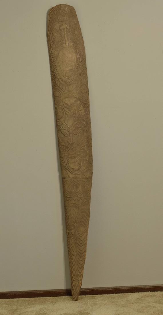 "Papua New Guinea Board Clan Spirit Natural Wood Clan Board 73"""