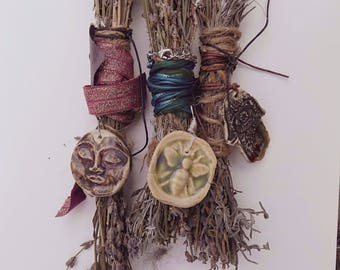 Lavender Bundles with Necklaces/Wall and Door Hangings ..Free Shipping in Continental US