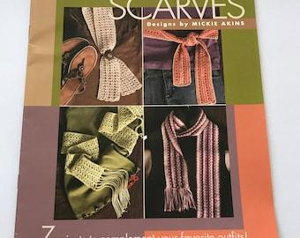 7 8-Hour Fashion Scarves Crochet Pattern Book