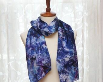 Hand Dyed Silk Scarf