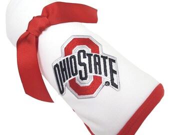 Ohio State Buckeyes Baby Receiving Blanket
