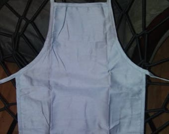 Gray Child's apron