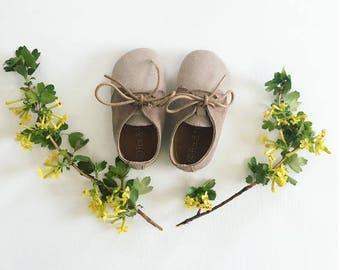 Baby leather oxfords, Baby moccasins, Baby oxfords, Soft baby shoes, Gender neutral baby shoes, Baby shoes