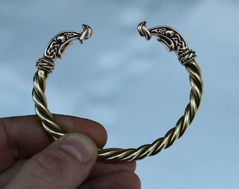 Ragnar bronze bracelet (Arm Ring) from Vikings TV show on History channel