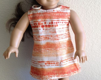 """Dress Made to fit 18"""" Dolls Such as American Girl Item #86"""