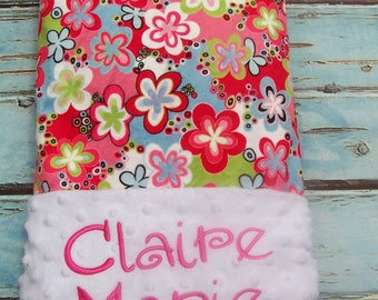 Blanket, Baby Gift, Baby Shower Gift, Personalized Baby Blanket, Baby Blanket, Boy Blanket, Girl Blanket, Minky Blanket, Embroidered Blanket