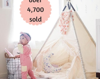 Play Tent for Girls - Timeless Indoor Teepee perfect for Easter