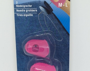 Needle grabbers, thimble, prym, silicone finger protectors , sewing notions, sewing supplies