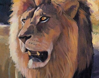 King of The Beasts- African Lion