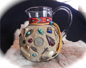 Memory Jug - Native American - Folk Art