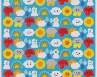 Weather Stickers - Kawaii Stickers - Reference C3795C3899-3901