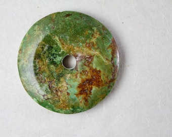 "2.5"" Chinese Turquoise Donut"