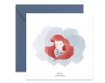The Little Mermaid - Postcard