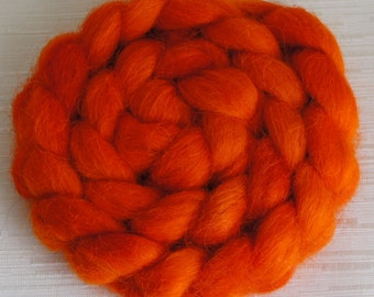 SALE Devon Top Wool Roving - Handpainted Roving Fiber for Spinning and Felting