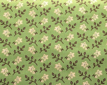 Windham Fabrics Colonies Green #20545, by the yard C330G