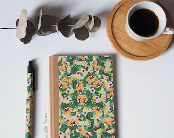 """Phone book """"Jungle"""" illsutred by Mademoiselle Paper."""