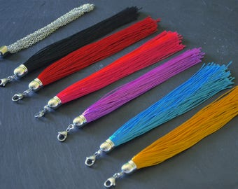Interchangeable tassel for Zoe Teacakes necklaces (available in 7 versions)