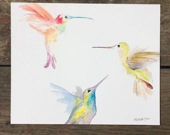 Hummingbird 8 x 10 Print (horizontal)