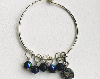 Cosmic Stitch Markers for Knitting
