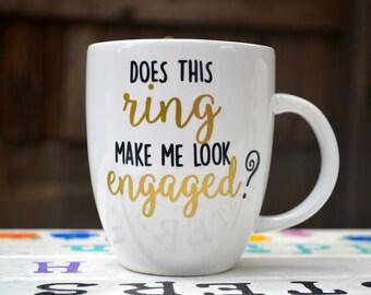Does this ring make me look engaged - Mug