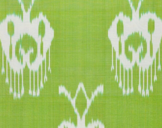 Sale! Ikat Fabric, Ikat Fabric by the yard, Hand Woven Fabric , F-A405