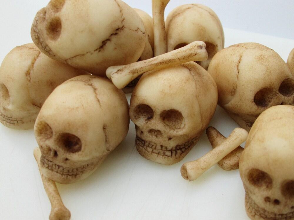 Calaveras de mazapán 9 cráneo comestible día del cráneo
