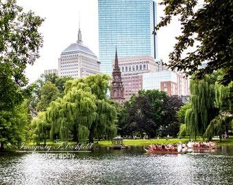 Boston Public Garden, Boston Photography, Fine Art, Fine Art Photography, Fine Art Print, Wall Art