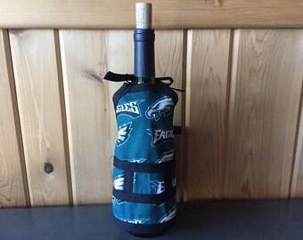 Philadelphia Eagles Wine Bottle Cover
