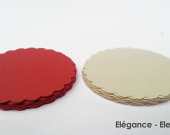 "30 - Scalloped Circles ""Elegance"""