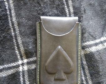 Leather Spade smartphone case