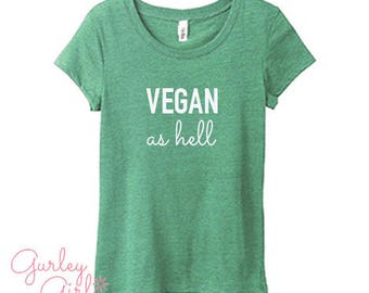 Funny Vegan Graphic Tee