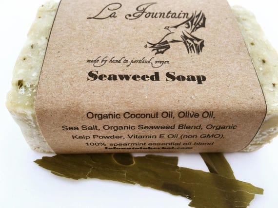 Seaweed Soap- Organic Soap