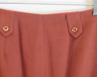 Burnt Sienna Skirt