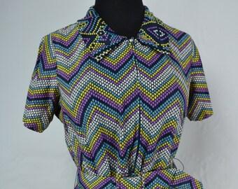 1960's Berkshire Polka Dot Dress, 1960s Dress, Vintage Dress, 1960s Mod Dress, Polka Dot Dress, Mod Dress, Vintage Dress, Dress, 60s Dress