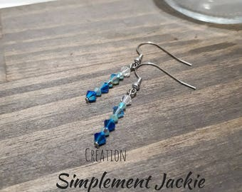 Earring, simple and delicate