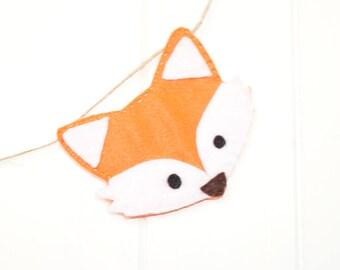 Fox Garden Theme Bunting