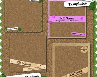 Corkboard Preview Templates