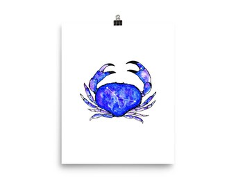 Cancer constellation 8 x 10 Print