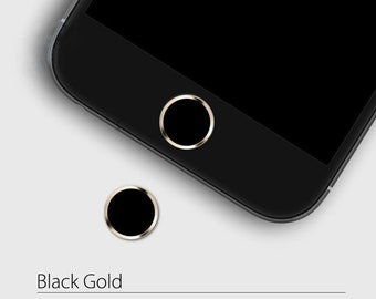 Aluminium Home Button Sticker Metal Touch ID For Apple iPhone iPod iPad