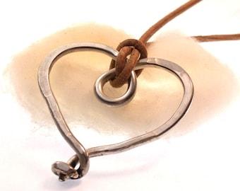 Fancy Heart made from Sterlingsilver