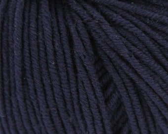 Grignasco Knits Merinogold DK Yarn, 100% Extra Fine New Merino Wool, Discontinued, Color - 070/Navy